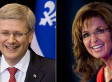 Sarah Palin Really Loves Stephen Harper And His Stance On Israel