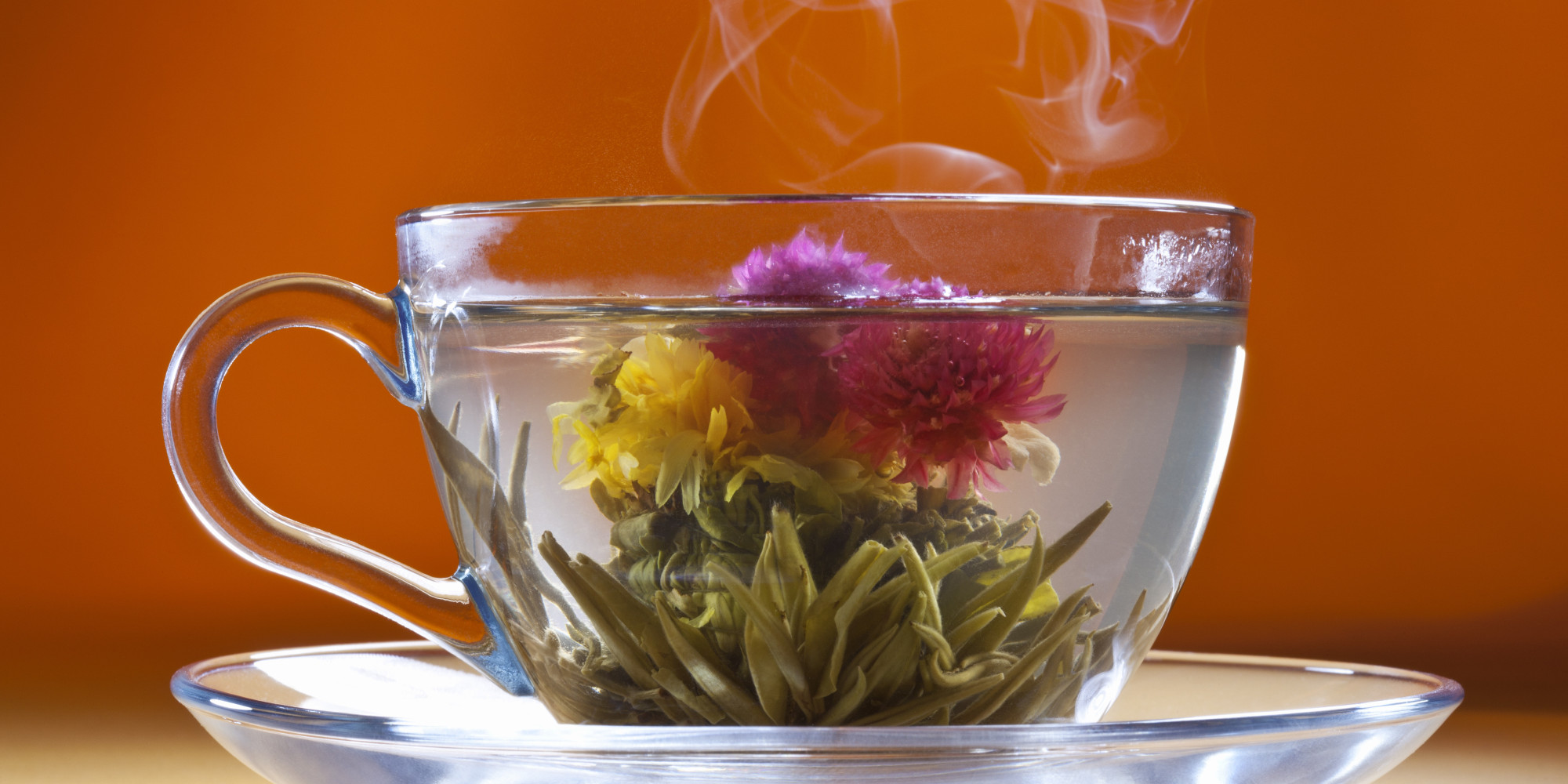 Chinese flower tea - Do You Think Flowering Tea Is Revolting Or Amazing Photos The Huffington Post