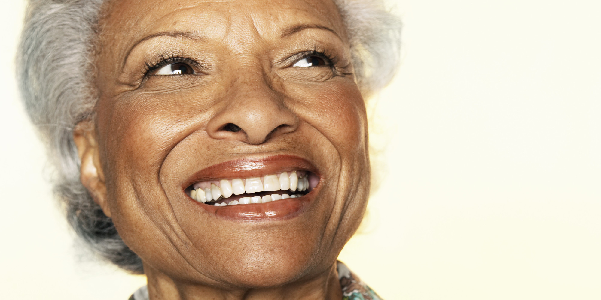 Image Gallery old black people happy