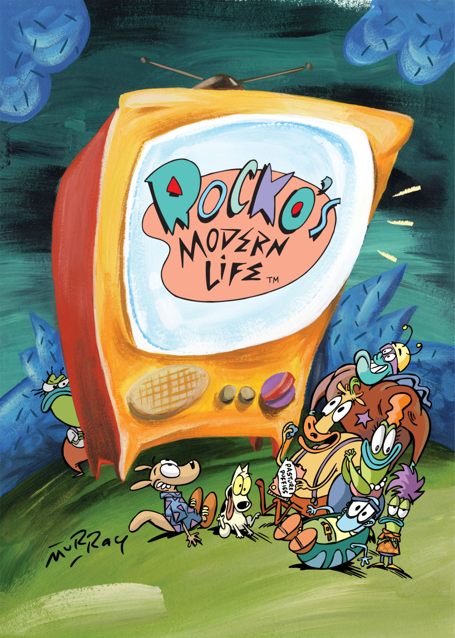 Travel Back To 1990s Cartoon Heaven With 'Rocko's Modern ...