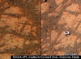 Weird Rock 'Like Nothing We've Seen Before,' Mars Scientists Say