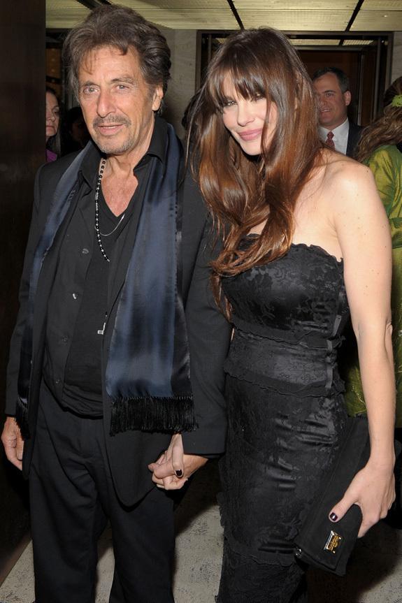 Al Pacino Girlfriend 2017