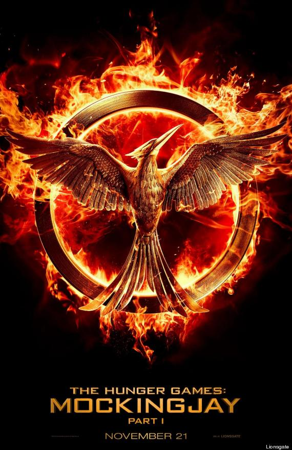 Heres The First Poster For The Hunger Games Mockingjay Part 1