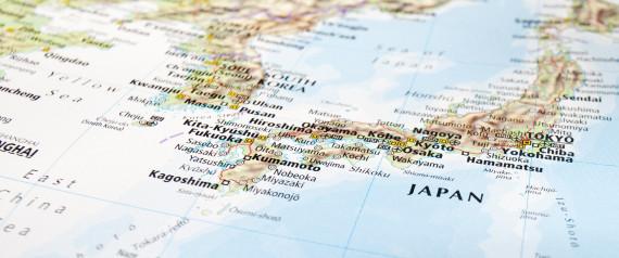 JAPAN SEA MAP