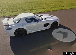 'Top Gear' Circuit Added To Google Street View (Complete With Resident Stig)
