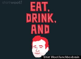 Bill Murray T-Shirt. WANT.