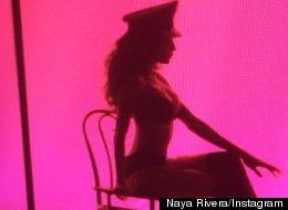 PHOTOS: Naya Rivera Gives Sexy Sneak Peek At Glee's 100th Episode
