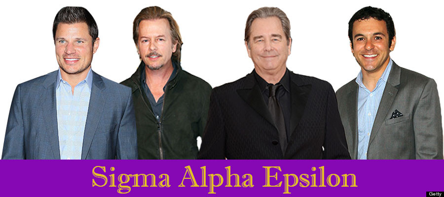 Celebrity sorority and fraternities