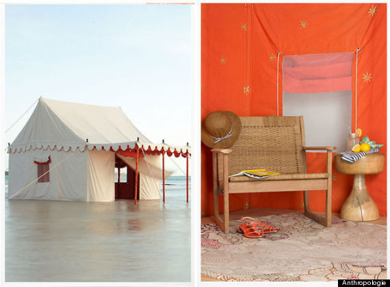 gl&ing tent & Anthropologie Is Just Trolling Us At This Point With Their $9000 ...