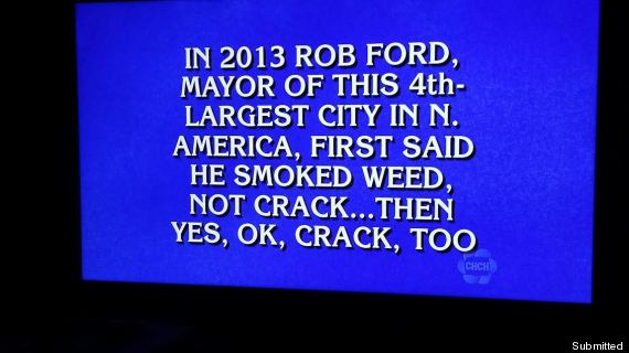 rob ford jeopardy