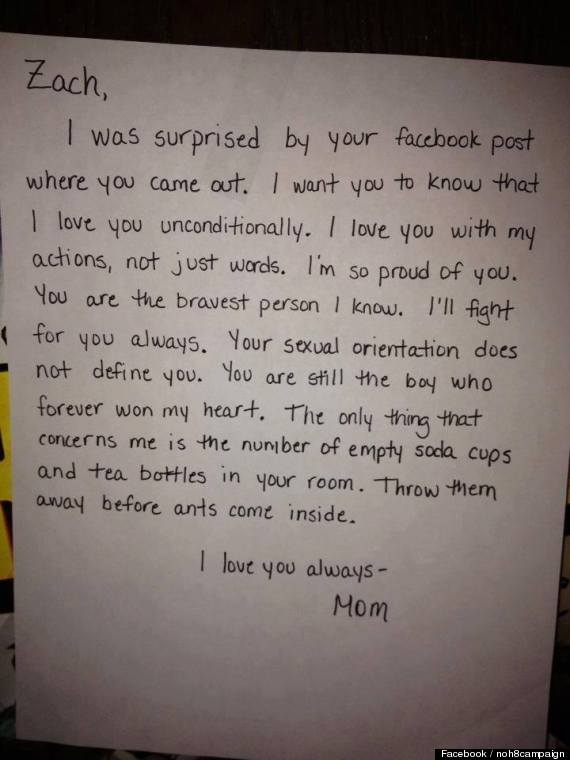 13 emotional letters that prove the written word has a power like no facebook coming out letter spiritdancerdesigns