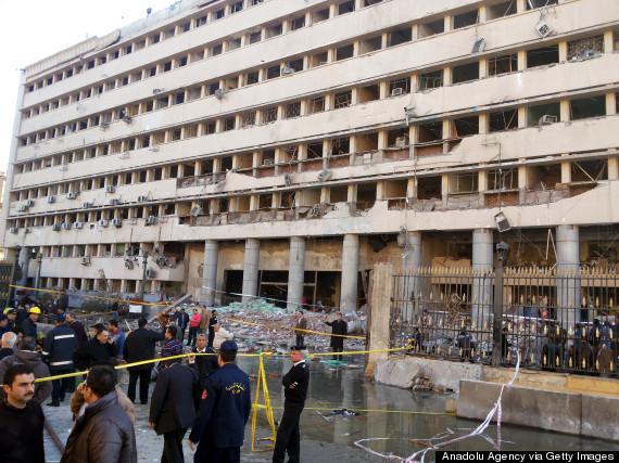 blast hits cairo