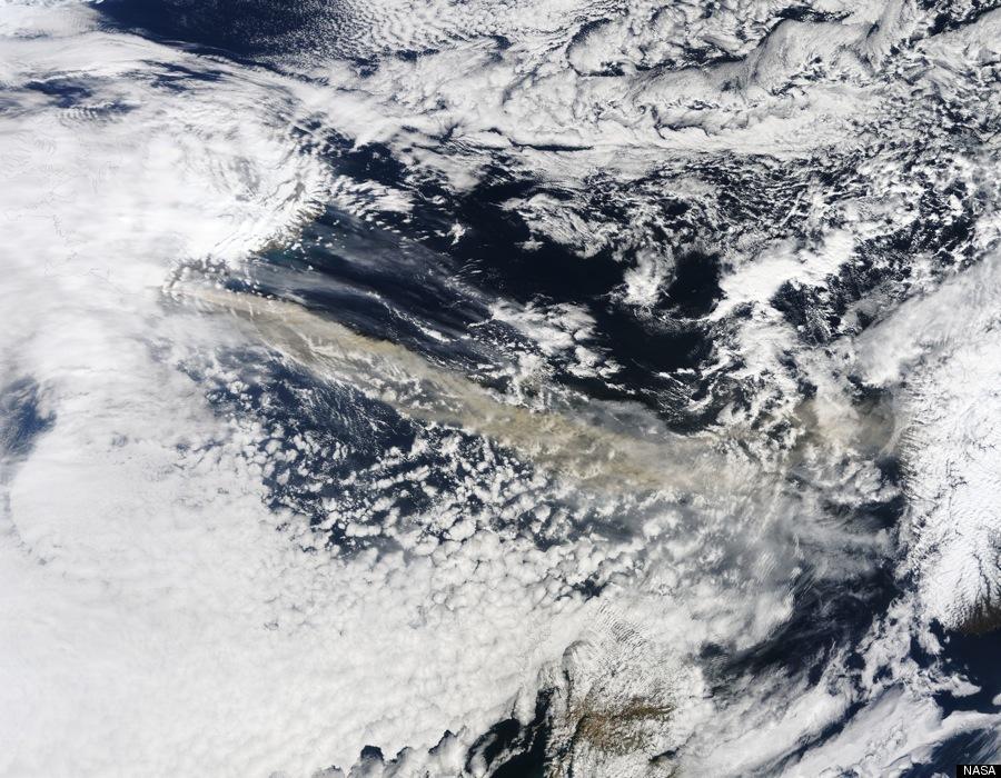ICELAND VOLCANO SATELLITE IMAGE Iceland Volcano Satellite Image:  NASAs Stunning Photo