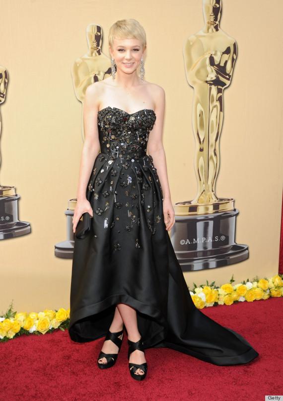 Carey Mulligan Does The Unthinkable To A Prada Dress