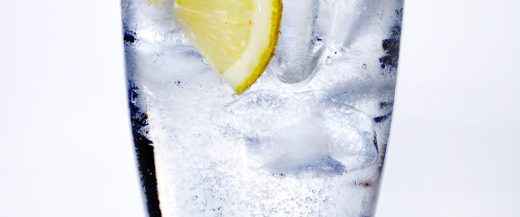 LEMON WATER GLASS