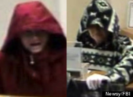 Returning Bank Robber Yells, 'I'm Back!'