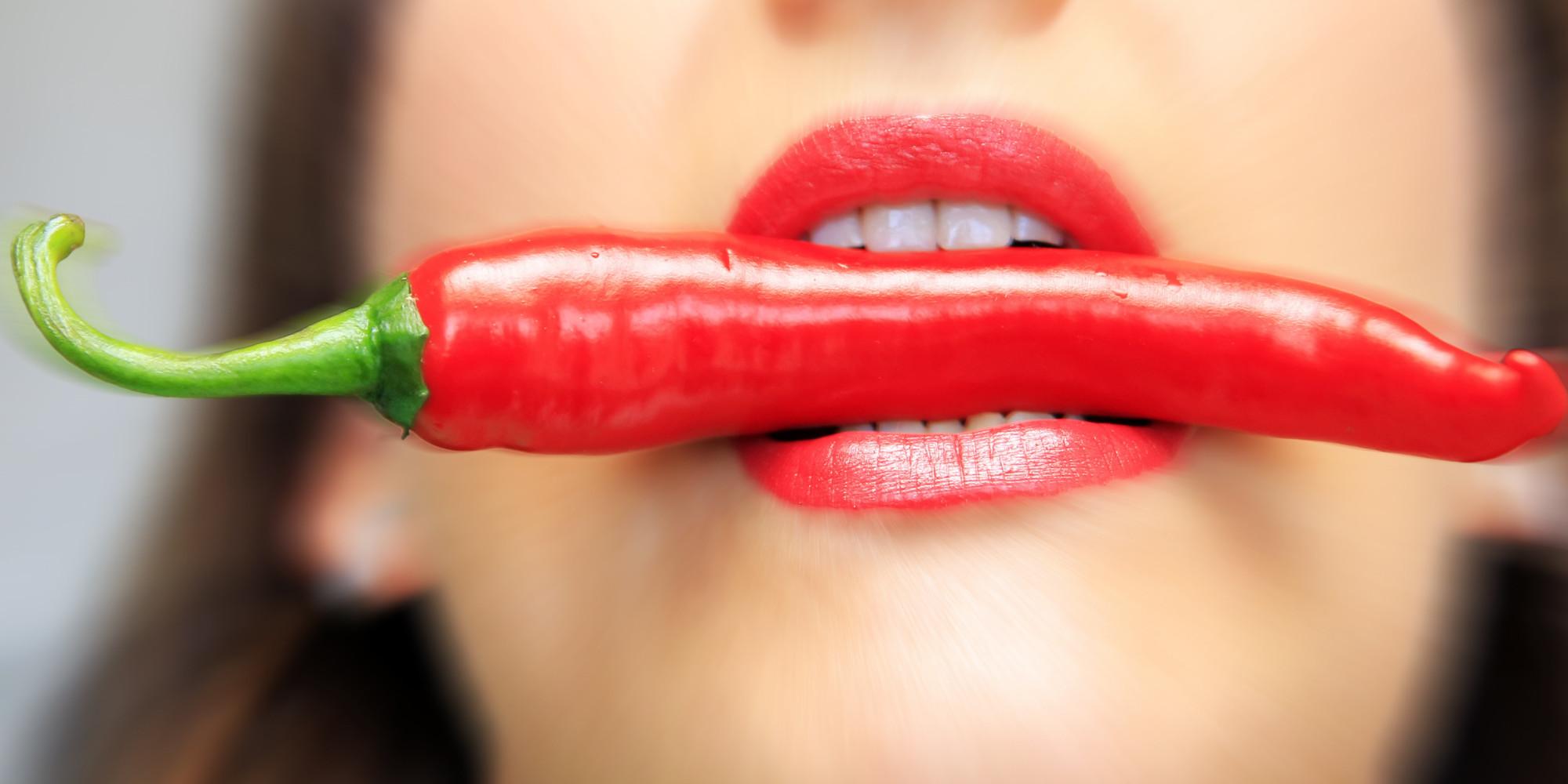 Η καυτερή πιπεριά δεν βοηθάει