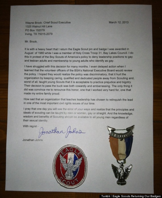 13 emotional letters that prove the written word has a power like no eagle scout letters spiritdancerdesigns Images