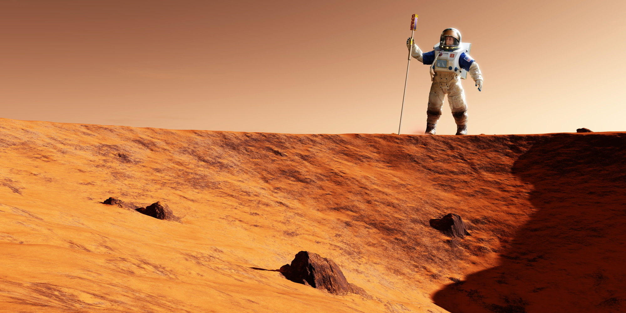 man lands on mars Who is the first person to land on mars save cancel already exists would you several automated probes have landed on mars, but man has not landed on mars.