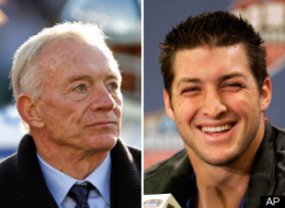 Tim Tebow Jerry Jones