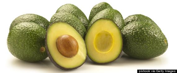 avocado cut