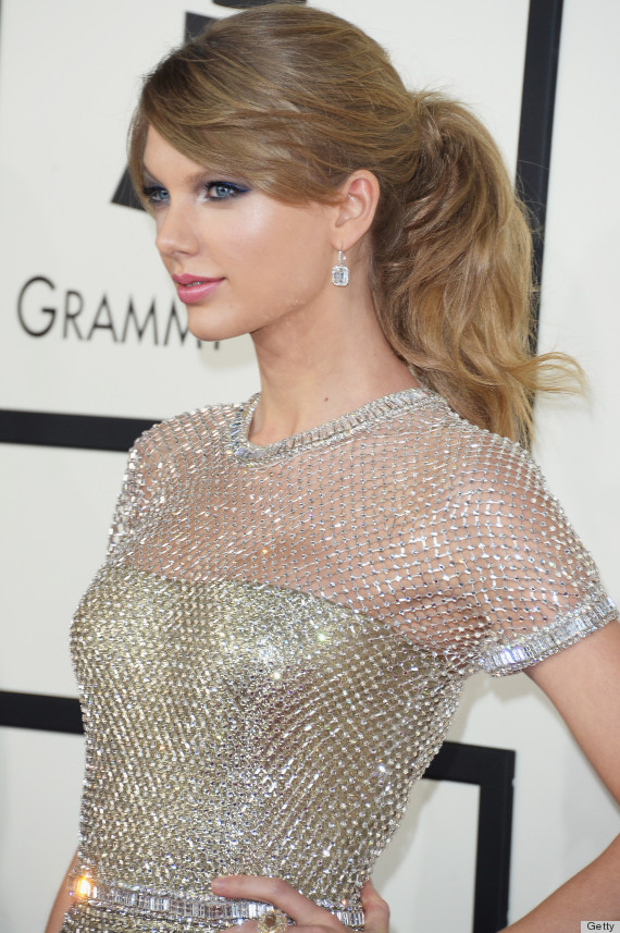Taylor Swift's Grammy Dress 2014 Is 'Like A Suit Of Armor