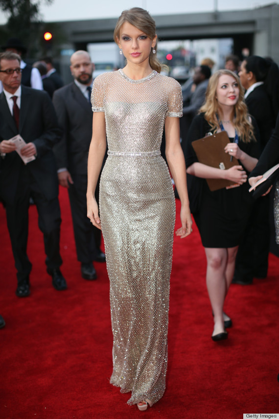 Arguably the best outfit of the night, Taylor Swift dropped jaws on the red carpet. What was so incredible about this gown was the fit — it looked like a ...