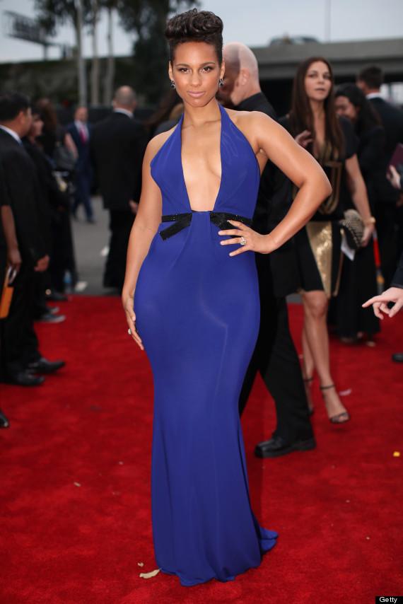 alicia keys grammy dress 2014Alicia Keys Grammy Dress