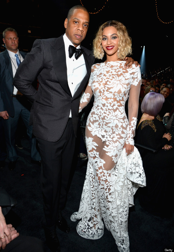 beyonce grammy dress 2014