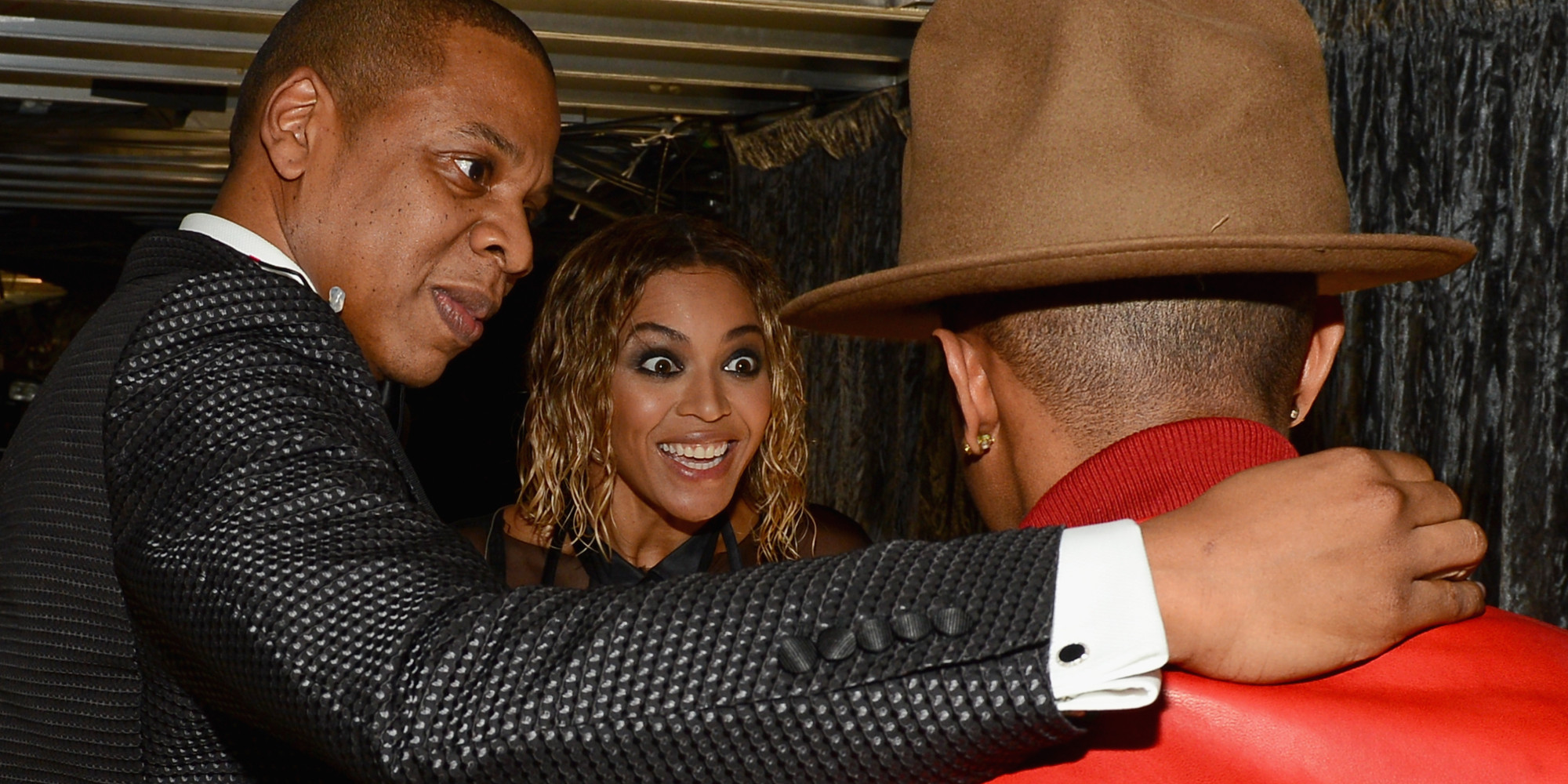 Beyonce Had The Best Reaction To Pharrell's Grammys 2014 ...