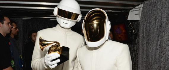 Daft Punk Album Of The Year At 2014 Grammy Awards Duo Wins For 'Random Access Memories'