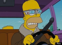 'The Simpsons' Take On Google Glass Is Predictably Hilarious