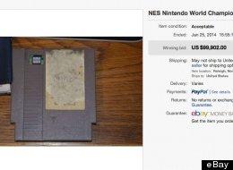 Admittedly Rare Nintendo Cartridge Sells For Insane $99,000 On eBay
