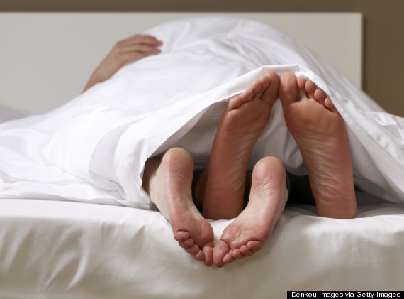 feet in bed sex