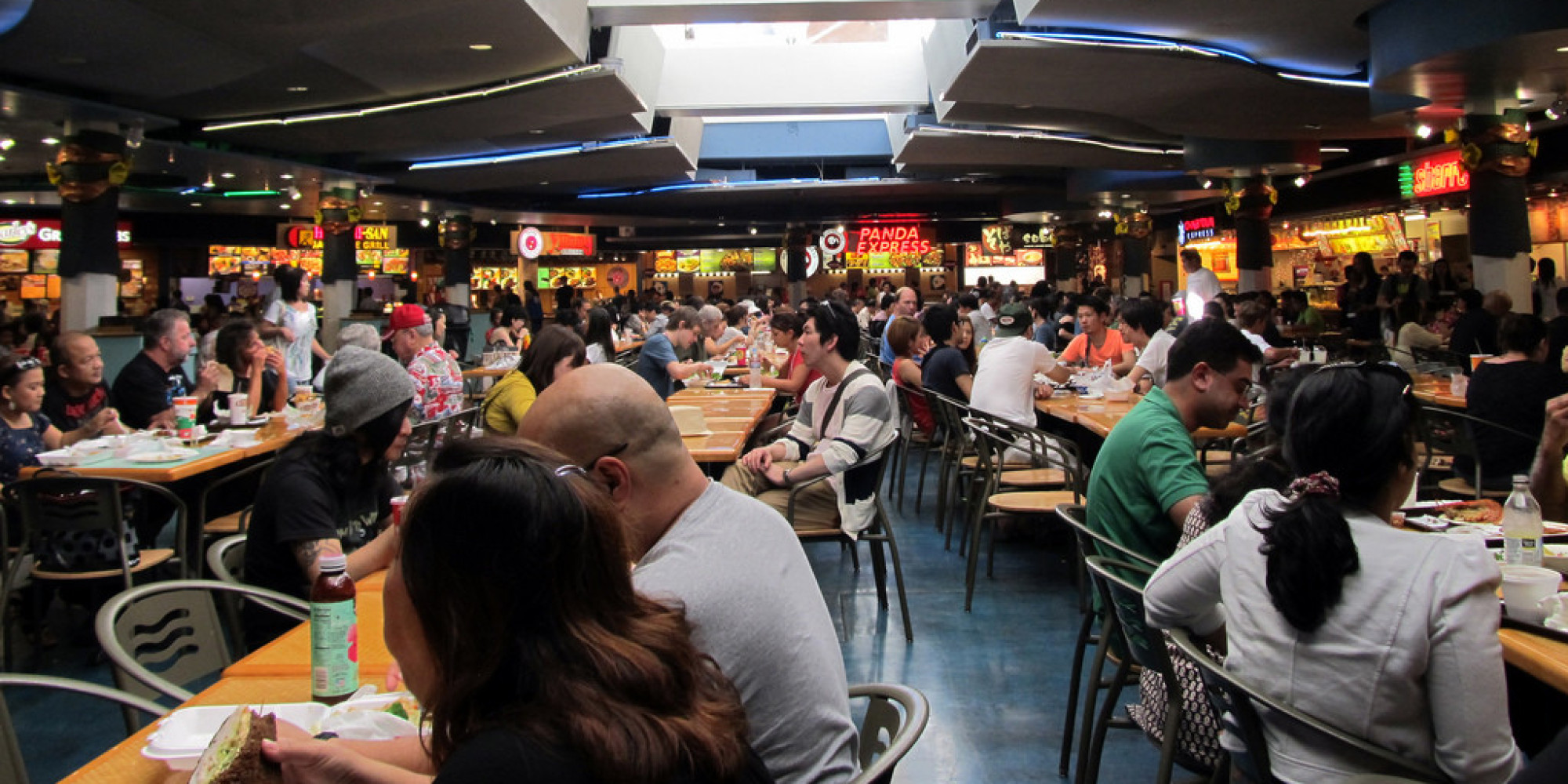 Close Malls Good Food Court