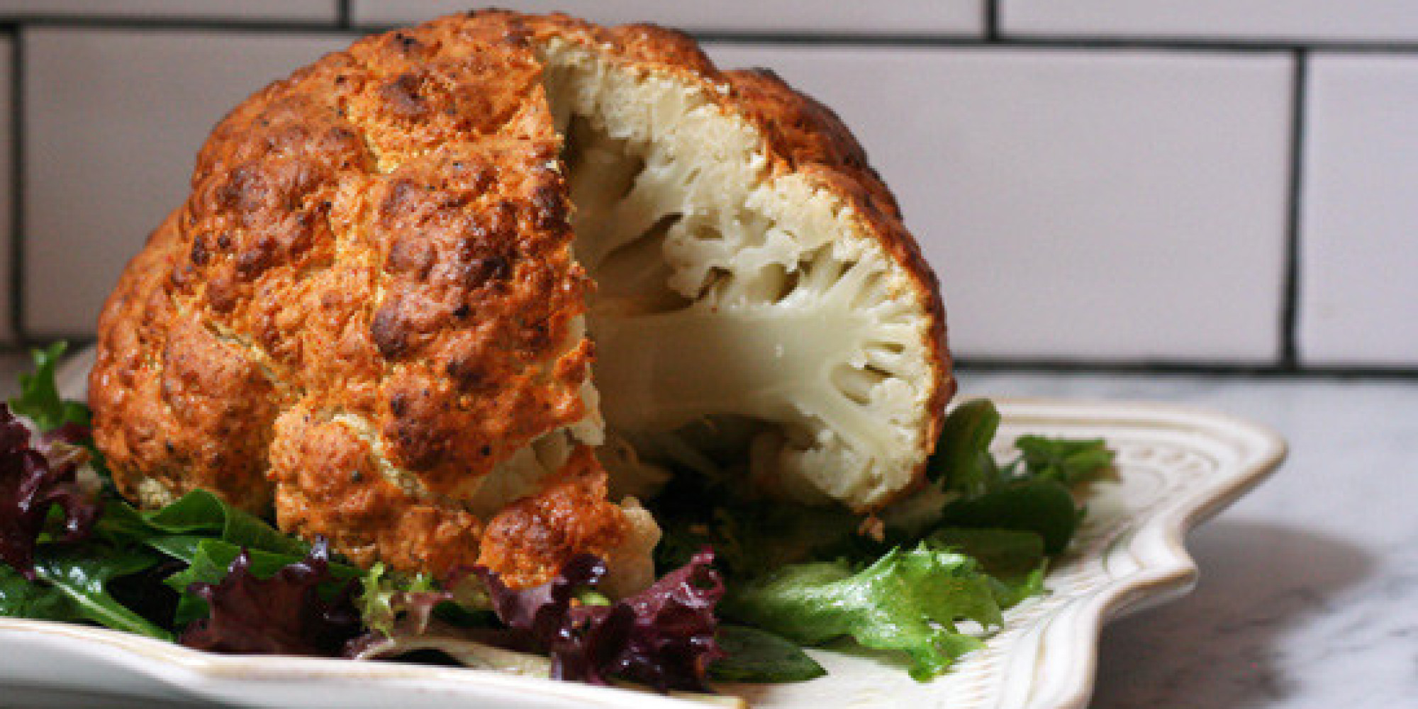 Forget Florets: Roast the Whole Darn Cauliflower! | PureWow
