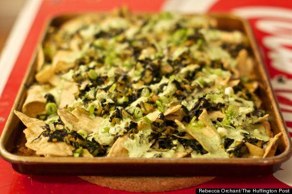 green nachos