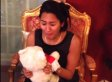 Woman Reunites With Her Childhood Teddy Bear, Has Happiness Meltdown (VIDEO)
