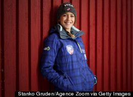 Team USA's First Female Olympic Ski Jumper On Why She'll Never Count Calories