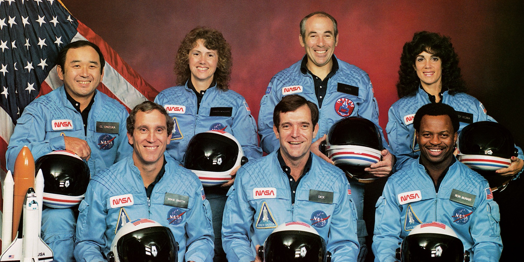 space shuttle challenger mission people - photo #34