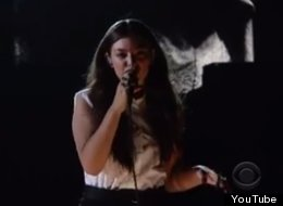 WATCH: Lorde's Grammy Performance Without Autotune Is Pretty Shocking