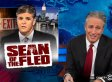 Jon Stewart Begs Sean Hannity To Stay In New York With PSA Starring Nathan Lane, Jersey Boys