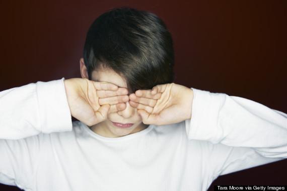 cover eyes