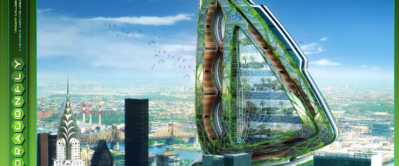 Dragonfly High-Rise Farm By Vincent Callebaut