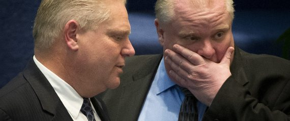 doug ford rob ford