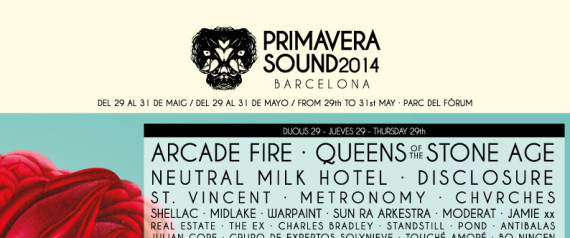 PRIMAVERA SOUND FESTIVAL 2014
