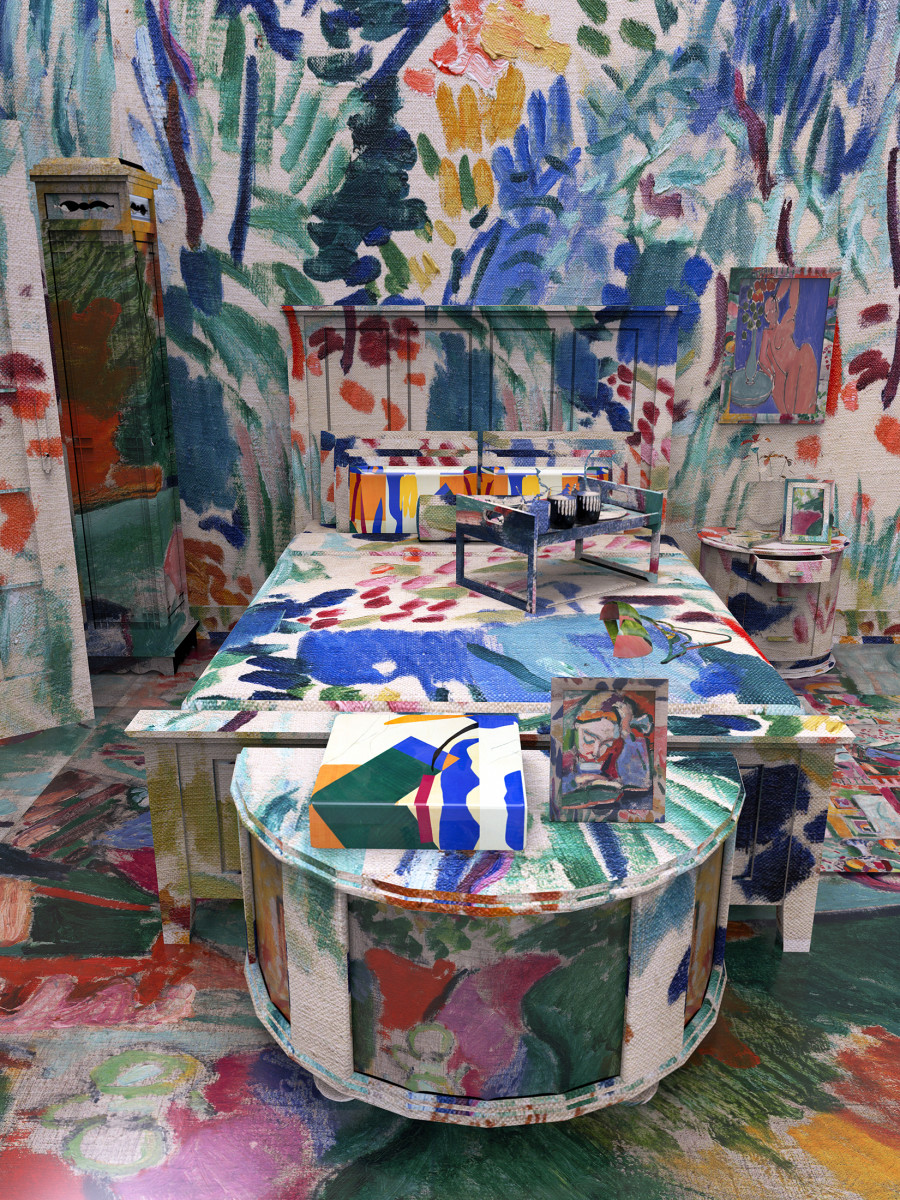 If Famous Artists Chose Interior Design Instead Of Fine Art