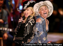 Madge And Miley Team Up