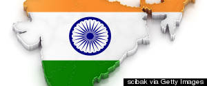 INDIA OCEAN FLAG