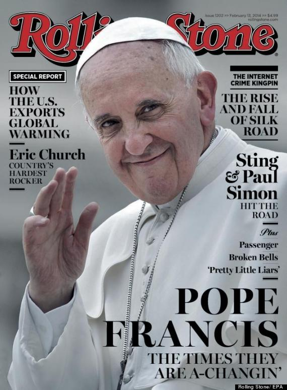 pope francis rolling stone